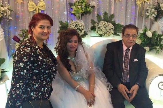 صور حفل زفاف الفنان زواج سعيد طرابيك والفنانة سارة طارق فيديو