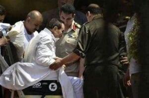 صور الإفراج عن محمد حسني مبارك
