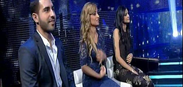 برواس حسين وسلمى رشيد يخرجون من برنامج اراب ايدول في حلقة التصفية 8-6-2013