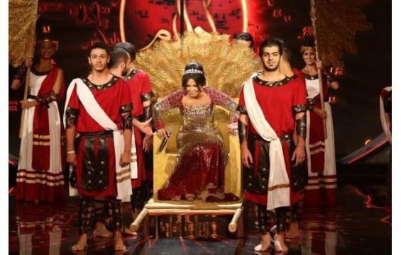 صورة صور احلام في حلقة عرب ايدول 15-6-2013 ازياء فساتين احلام الملكة