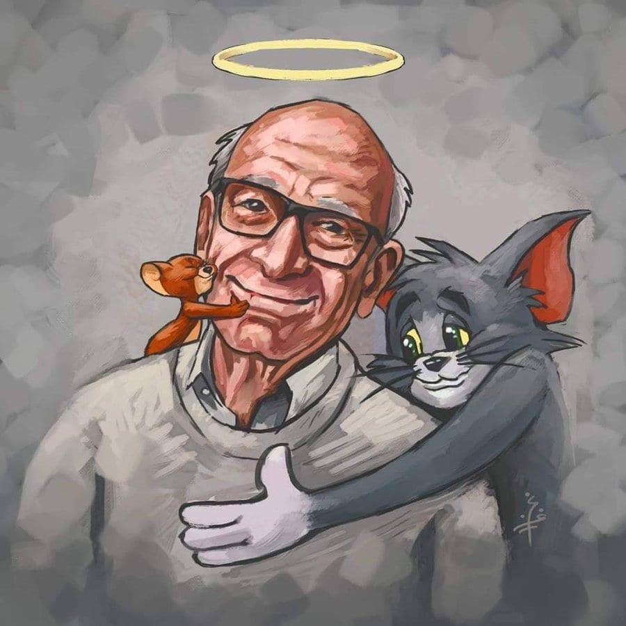 وفاة رسام توم وجيري