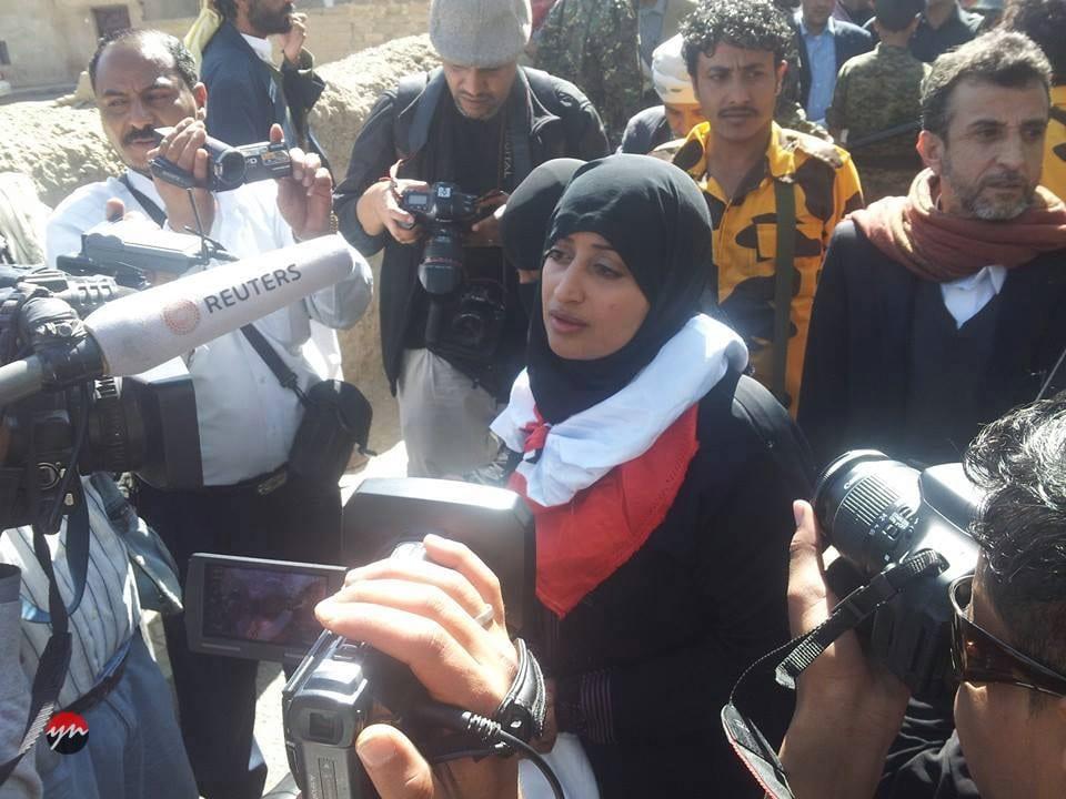 الرئيس هادي يستدعي نورا الجروي واتباع حملة انقاذ 14 يناير