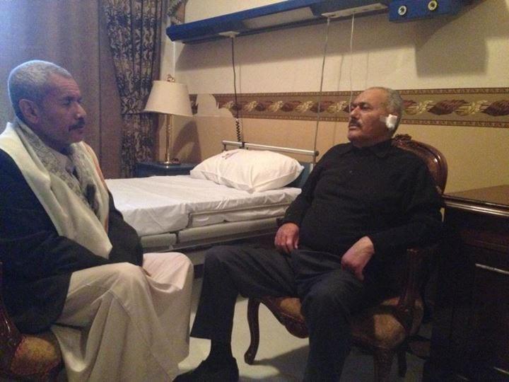 اعلان عن وفاة علي عبدالله صالح