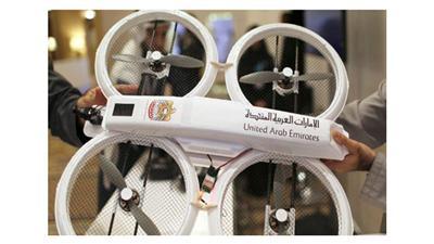 طائرة بدون طيار في الإمارات لتقديم الخدمات الحكومية