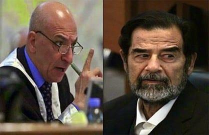 أنباء عن إعدام القاضي رؤوف رشيد الي حكم على صدام حسين بالإعدام
