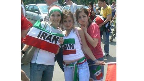 بنات ايران بالجنز في كاس العالم صور بنات