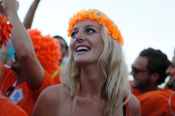 صور ملكات جمال هولندا في كأس العالم 2014 صور نساء 2014