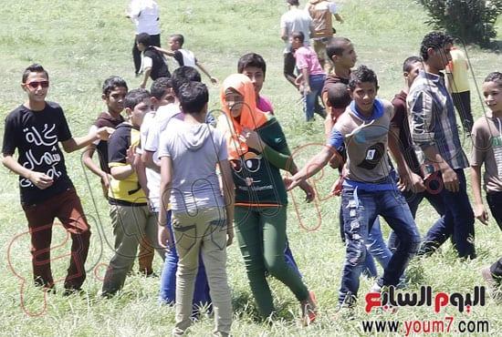 في ايام العيد التحرش في وسط البلد في ميدان التحرير مصر
