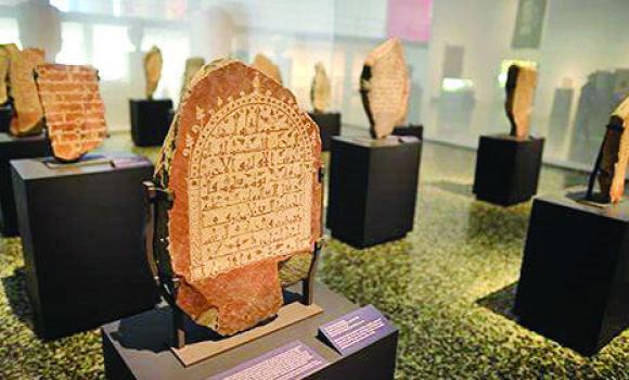 صورة الهيئة العامة للسياحة والآثار تكشف عن أقدم النقوش العربية السعودية
