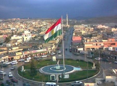 صورة تقدم المتشددين يعطل إنتاج النفط في كردستان العراق