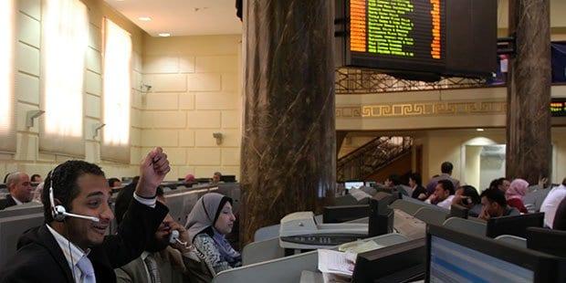صورة بورصة مصر : منتصف الدورة مكاسب البورصة 2.7 مليون جنيه المؤشر يخترق المقاومة 9،200