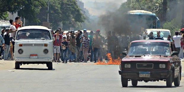 صورة اخبار مصر : اشتباكات في عدة محافظات مصرية