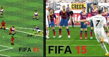 صور من لعبة فيفا 2015 FIFA مع بعض الصور للتطورات العاب فلاش 2014