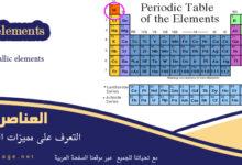 صورة من مميزات العناصر الفلزية انواع وتعريف الفلزات