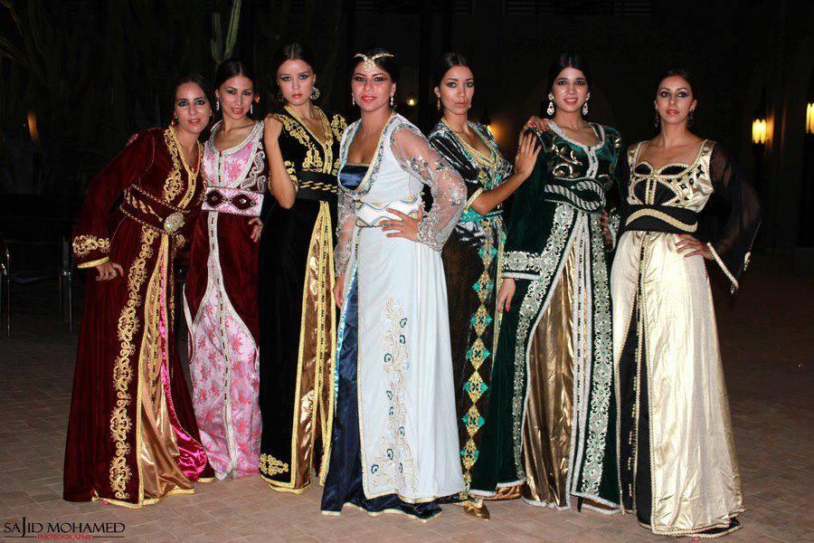 قفطان مغربي 2020 ملابس مغربية ملونة