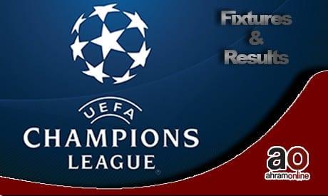 دوري أبطال أوروبا مرحلة المجموعات ومواعيد المباريات والنتائج (الجولة 2) - الصفحة العربية