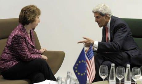 Photo of كيري، ظريف و اشتون لعقد المحادثات النووية في فيينا 15 أكتوبر