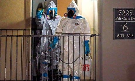صورة أول وفاة بمرض ايبولا في تكساس الامريكية