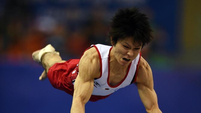 صورة 2 من الميداليات الذهبية الامريكية في بطولة العالم للجمباز