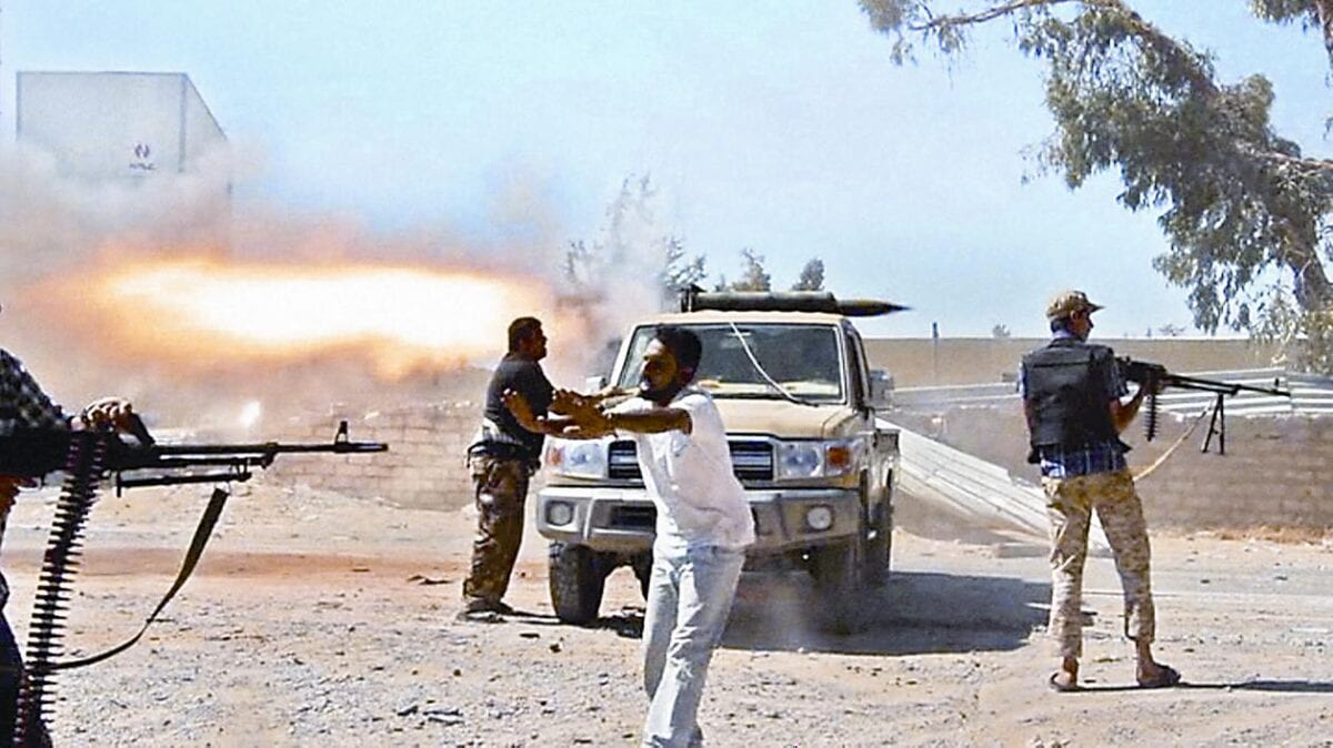 صورة 21 قتيلا على الأقل في اشتباكات ليبيا