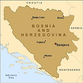 صورة الانتخابات في البوسنة تسير وقف ظروف الملائمة