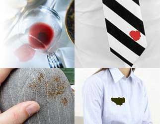 صورة طرق إزالة البقع من الملابس
