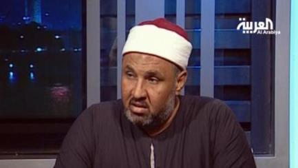 صورة تصريح خطير لوزير الأوقاف يقول فيه إراقة الدماء بإذن الحاكم ليست حرام!!
