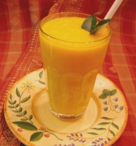 عصير مانجو