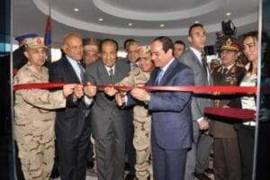 افتتاح أعمال التطوير بمجمع الجلاء الطبي للقوات المسلحة