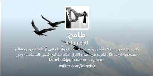 من هو المغرد طماح الإماراتي , حقيقة طماح اخبار اليمن 16-12-2014