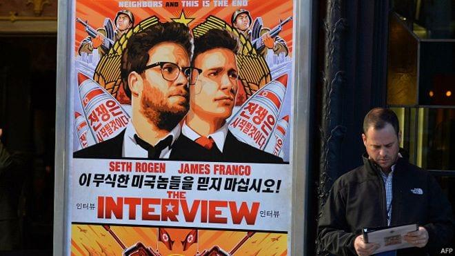 صورة أخبار سوني تعلن عن عرض فيلم المقابلة interview في السنة 2015