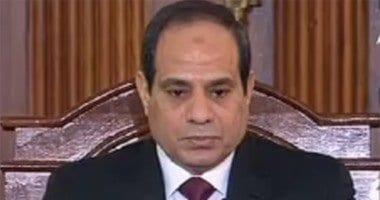 صورة السيسي يزور دار القضاء العالي للإشادة بدورها البارز