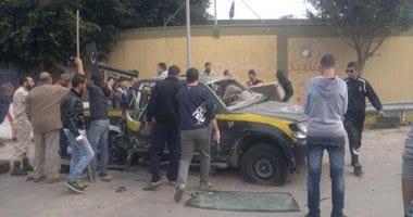 صورة وصول الصيادين المصريين الفارين من اشتباكات مصراتة