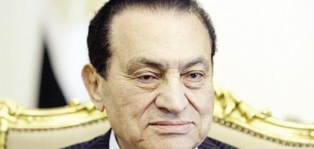 موعد الطعن من مبارك في قضية القصور الرئاسية