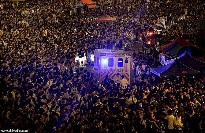 Photo of مقتل 35 شخص اثناء احتفالات العام الجديد فى الصين