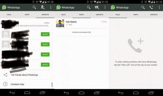 مجاناً ومتاحاً ميزة المكالمات الصوتية على تطبيق واتساب واتس اب بدون تفعيل في العالم
