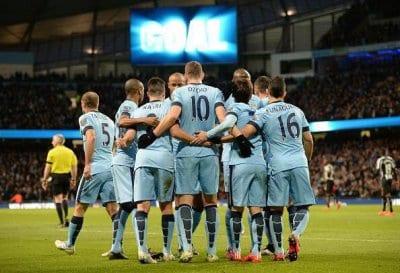 مباراة برشلونة و مانشستر سيتي التشكيلة الاساسية 24-2-2015