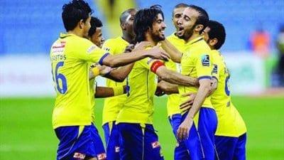 صورة قبل موعد مباراة النصر ضد الفتح 30-8-2019 اجواء مشتعلة