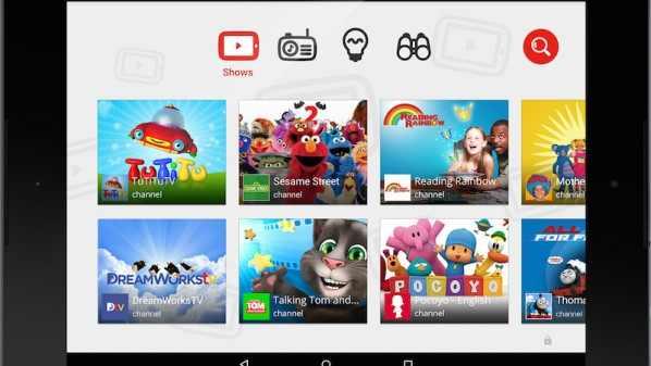 صورة YouTube Kids تطلقها قوقل للأطفال وتأمين التصفح الأمن للأطفال