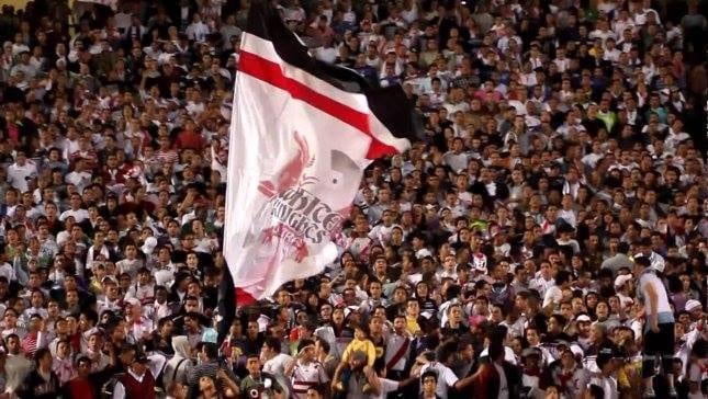 إشتباكات بين جماهير الزمالك والأمن في مباراة الزمالك و إنبي 8-2-2015 مصر اخبار