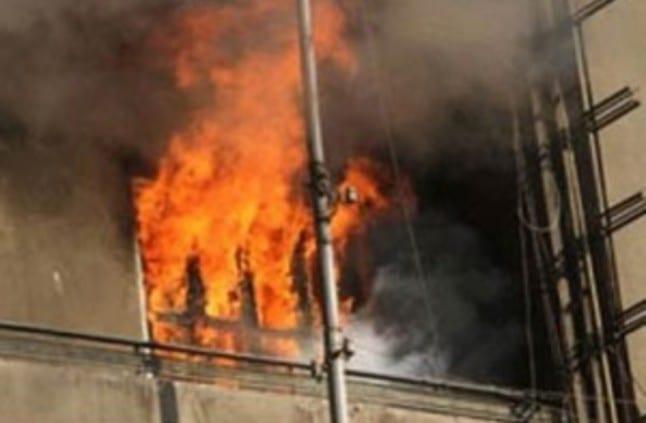 تفجير محطة برج الكهرباء في مدينة العاشر من رمضان اخبار مصر 11-3-2015
