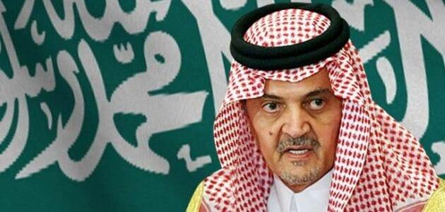 وزير الخارجية السعودي سعود الفيصل لسنا داعة حرب
