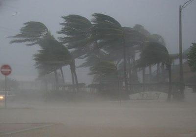 Photo of أعصار يضرب جزر المحيط الهاديء