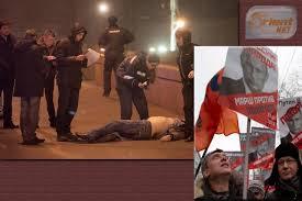 صورة اعتقال أثنين من المتسببين في مقتل المعارض الروسي