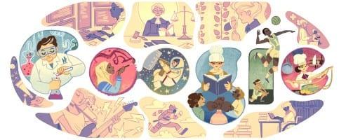 صورة googel اليوم العالمي للمرأه محرك البحث جوجل يحتفل باليوم العالمي للمرأة 8-3-2015 من شهر مارس كل سنة