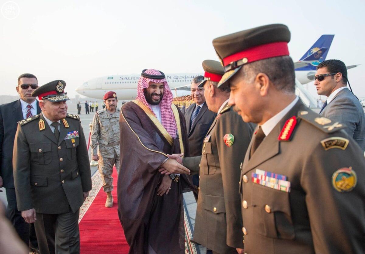 صورة صور وصول وزير الدفاع السعودي الأمير محمد بن سلمان بن عبدالعزيز إلى مصر من أخبار مصر 15-4-2015