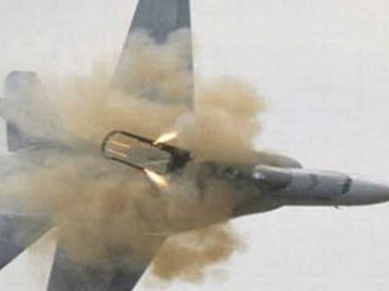 سقوط طائرة تدريب تابعة لكلية جوية سعودية