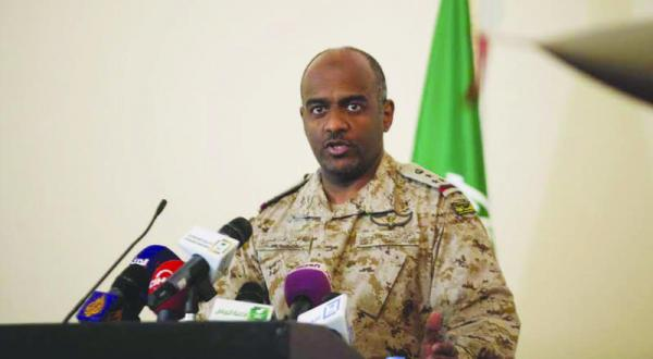 صورة الأمم المتحده يضع قوات التحالف في القائمة السوداء , العميد احمد عسيري يرد