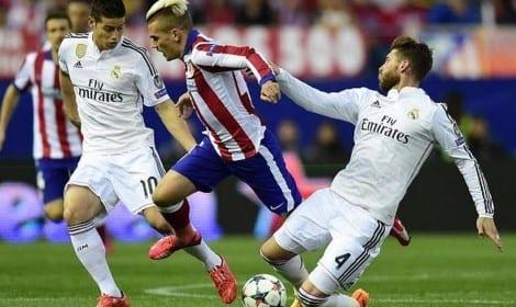 مباراة ريال مدريد واتلتيكو اليوم 22-4-2015 على الصفحة العربية ورابط المشاهدة بث مباشر