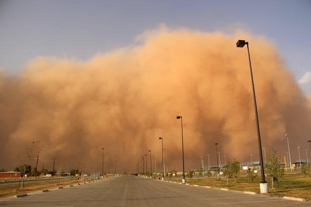 11 جمادي الثاني 1436هـ عاصفة رملية على المملكة العربية السعودية الأربعاء من أخبار السعودية 1-4-2015